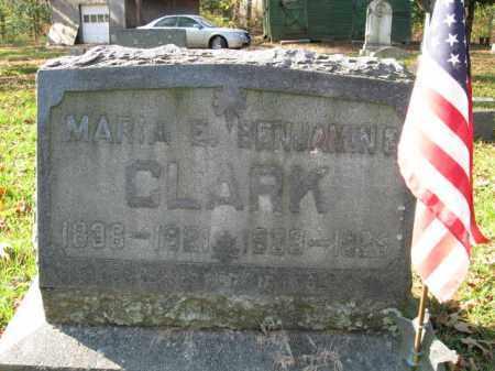 CLARK, BENJAMIN G. - Burlington County, New Jersey   BENJAMIN G. CLARK - New Jersey Gravestone Photos