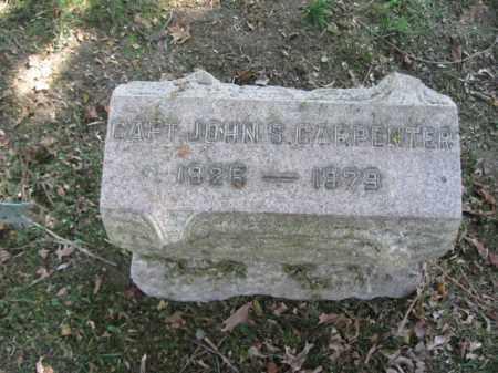 CARPENTER, JOHN S. - Burlington County, New Jersey   JOHN S. CARPENTER - New Jersey Gravestone Photos