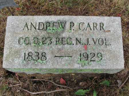CARR, ANDREW P. - Burlington County, New Jersey | ANDREW P. CARR - New Jersey Gravestone Photos