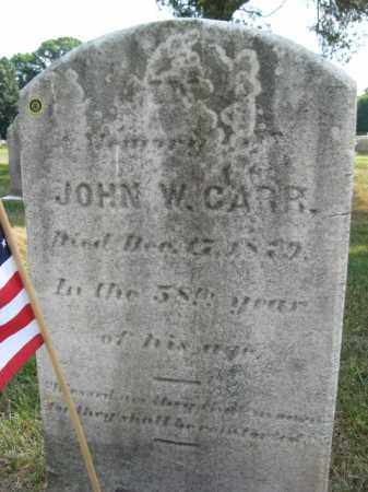 CARR, JOHN W. - Burlington County, New Jersey | JOHN W. CARR - New Jersey Gravestone Photos