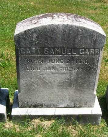 CARR, SAMUEL - Burlington County, New Jersey | SAMUEL CARR - New Jersey Gravestone Photos