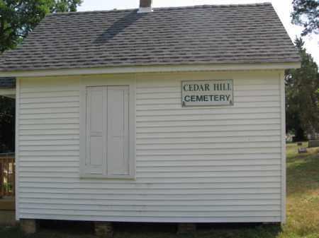 CEMETERY SIGN, CEDAR HILL - Burlington County, New Jersey | CEDAR HILL CEMETERY SIGN - New Jersey Gravestone Photos