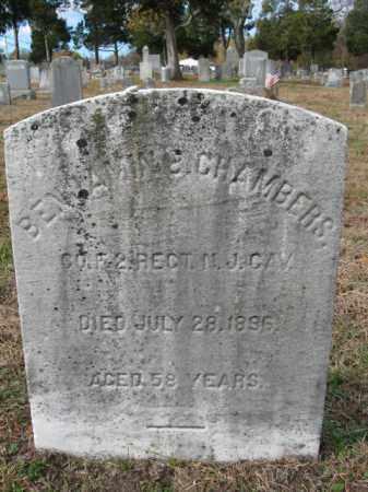 CHAMBERS, BENJAMIN B. - Burlington County, New Jersey | BENJAMIN B. CHAMBERS - New Jersey Gravestone Photos