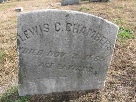 CHAMBERS, LEWIS C. - Burlington County, New Jersey | LEWIS C. CHAMBERS - New Jersey Gravestone Photos