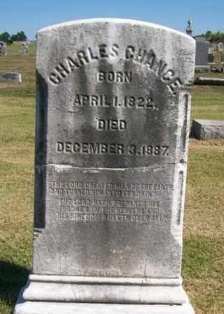 CHANCE, CHARLES - Burlington County, New Jersey | CHARLES CHANCE - New Jersey Gravestone Photos