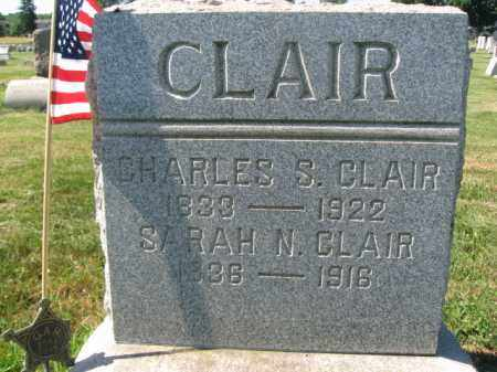 CLAIR, CHARLES S. - Burlington County, New Jersey | CHARLES S. CLAIR - New Jersey Gravestone Photos