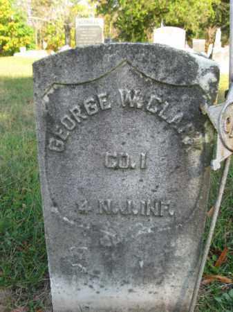 CLARK, GEORGE W. - Burlington County, New Jersey | GEORGE W. CLARK - New Jersey Gravestone Photos