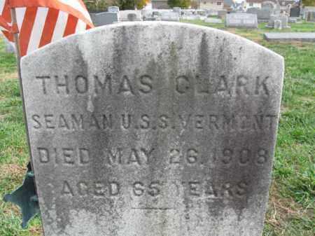 CLARK, THOMAS - Burlington County, New Jersey | THOMAS CLARK - New Jersey Gravestone Photos