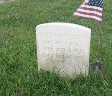 CLIVER, JOSEPH KING - Burlington County, New Jersey | JOSEPH KING CLIVER - New Jersey Gravestone Photos