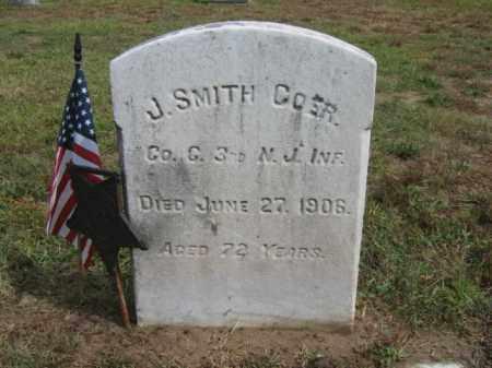COER, SERG.JOSEPH SMITH - Burlington County, New Jersey | SERG.JOSEPH SMITH COER - New Jersey Gravestone Photos