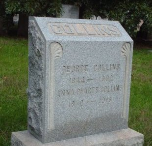 COLLINS, GEORGE - Burlington County, New Jersey | GEORGE COLLINS - New Jersey Gravestone Photos