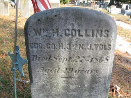 COLLINS, WILLIAM H. - Burlington County, New Jersey   WILLIAM H. COLLINS - New Jersey Gravestone Photos