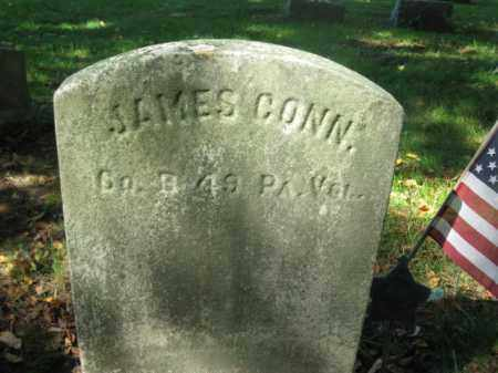 CONN, JAMES - Burlington County, New Jersey   JAMES CONN - New Jersey Gravestone Photos