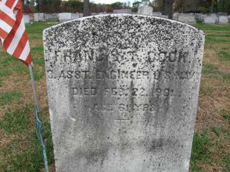 COOK, FRANCIS T. - Burlington County, New Jersey | FRANCIS T. COOK - New Jersey Gravestone Photos