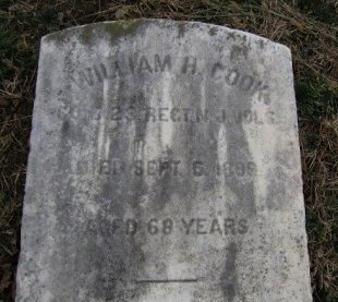 COOK, WILLIAM . - Burlington County, New Jersey | WILLIAM . COOK - New Jersey Gravestone Photos