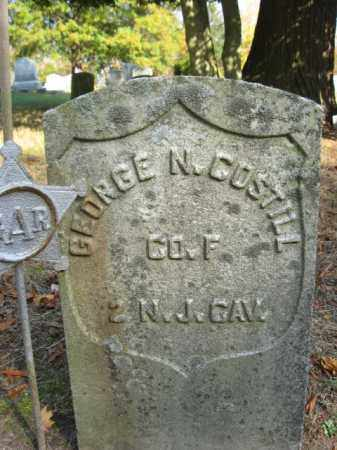COSTILL, GEORGE N. - Burlington County, New Jersey | GEORGE N. COSTILL - New Jersey Gravestone Photos