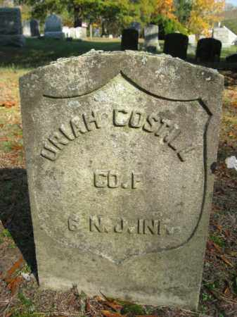 COSTILL, URIAH - Burlington County, New Jersey | URIAH COSTILL - New Jersey Gravestone Photos