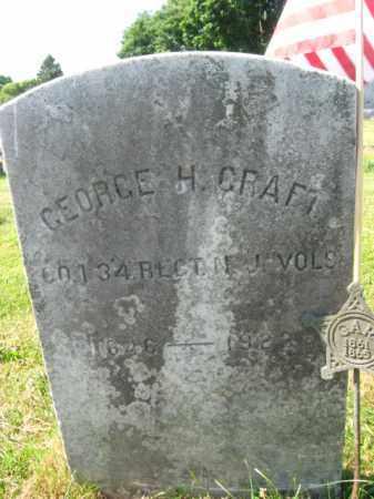 CRAFT, GEORGE H. - Burlington County, New Jersey | GEORGE H. CRAFT - New Jersey Gravestone Photos