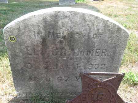 CRAMMER, ELI - Burlington County, New Jersey | ELI CRAMMER - New Jersey Gravestone Photos