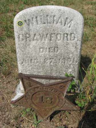 CRAWFORD, WILLIAM - Burlington County, New Jersey | WILLIAM CRAWFORD - New Jersey Gravestone Photos