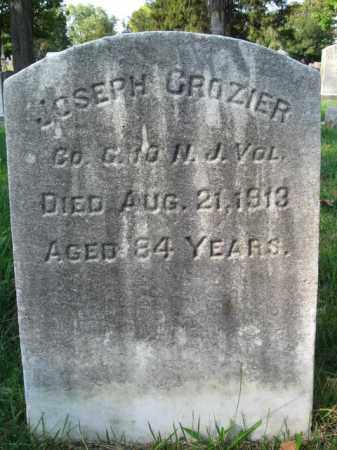CROZIER, JOSEPH - Burlington County, New Jersey | JOSEPH CROZIER - New Jersey Gravestone Photos