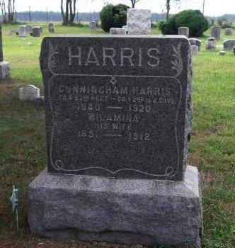 HARRIS, CUNNINGHAM - Burlington County, New Jersey | CUNNINGHAM HARRIS - New Jersey Gravestone Photos