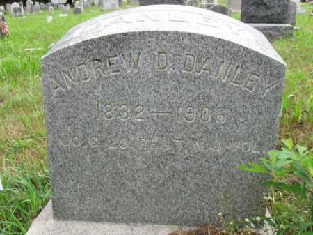 DANLEY, ANDREW D. - Burlington County, New Jersey | ANDREW D. DANLEY - New Jersey Gravestone Photos