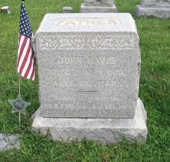 DAVIS, JOHN - Burlington County, New Jersey   JOHN DAVIS - New Jersey Gravestone Photos