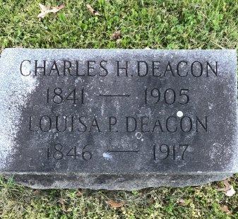 DEACON, CHARLES H. - Burlington County, New Jersey | CHARLES H. DEACON - New Jersey Gravestone Photos