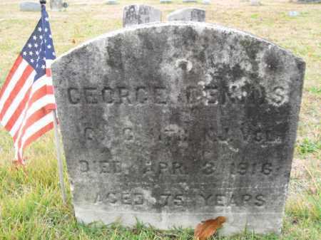 DENNIS, GEORGE - Burlington County, New Jersey   GEORGE DENNIS - New Jersey Gravestone Photos