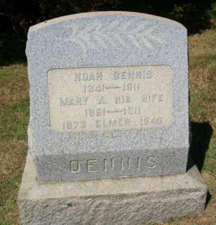 DENNIS, NOAH - Burlington County, New Jersey   NOAH DENNIS - New Jersey Gravestone Photos