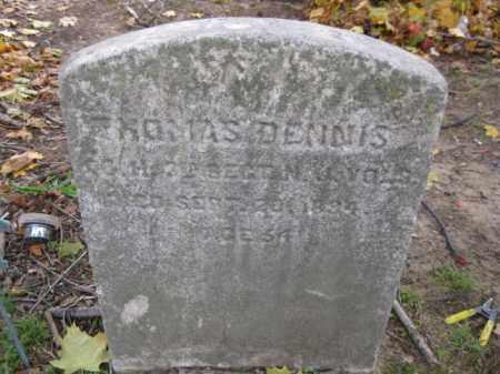 DENNIS, THOMAS - Burlington County, New Jersey | THOMAS DENNIS - New Jersey Gravestone Photos