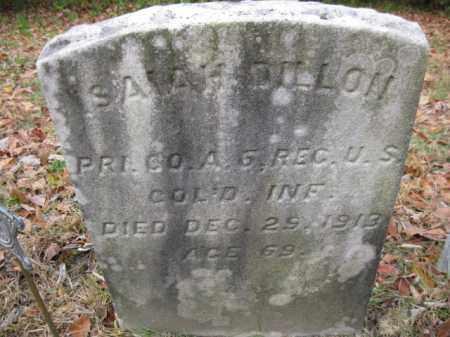 DILLON, ISAIAH - Burlington County, New Jersey | ISAIAH DILLON - New Jersey Gravestone Photos