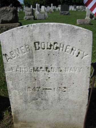 DOUGHERTY, ABNER - Burlington County, New Jersey   ABNER DOUGHERTY - New Jersey Gravestone Photos
