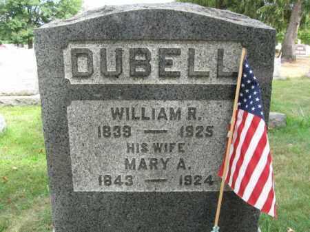 DUBELL (DUBEL), WILLIAM R. - Burlington County, New Jersey   WILLIAM R. DUBELL (DUBEL) - New Jersey Gravestone Photos