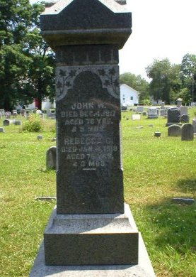 ELDRIDGE, JOHN W. - Burlington County, New Jersey | JOHN W. ELDRIDGE - New Jersey Gravestone Photos