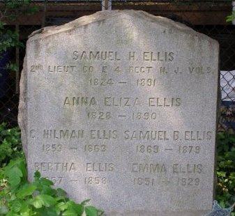 ELLIS, SAMUEL H. - Burlington County, New Jersey | SAMUEL H. ELLIS - New Jersey Gravestone Photos
