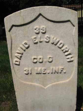ELSWORTH (ELLSWORTH), DAVID - Burlington County, New Jersey | DAVID ELSWORTH (ELLSWORTH) - New Jersey Gravestone Photos