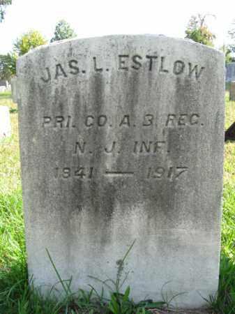 ESTLOW, PVT.JAMES L. - Burlington County, New Jersey | PVT.JAMES L. ESTLOW - New Jersey Gravestone Photos