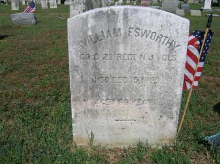 ESWORTHY (ESTWORTHY), WILLIAM - Burlington County, New Jersey | WILLIAM ESWORTHY (ESTWORTHY) - New Jersey Gravestone Photos
