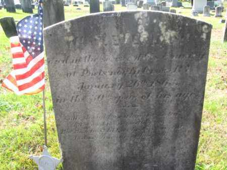 EVERHAM, WILLIAM - Burlington County, New Jersey | WILLIAM EVERHAM - New Jersey Gravestone Photos