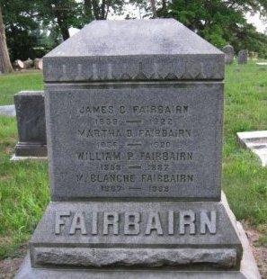 FAIRBAIRN, JAMES C. - Burlington County, New Jersey   JAMES C. FAIRBAIRN - New Jersey Gravestone Photos