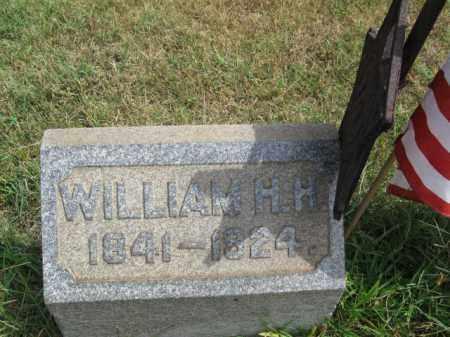 FALKENBURG, WILLIAM HENRY HARRISON - Burlington County, New Jersey | WILLIAM HENRY HARRISON FALKENBURG - New Jersey Gravestone Photos