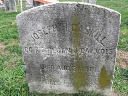 GASKILL, JOSEPH H. - Burlington County, New Jersey | JOSEPH H. GASKILL - New Jersey Gravestone Photos