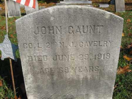 GAUNT, JOHN - Burlington County, New Jersey | JOHN GAUNT - New Jersey Gravestone Photos