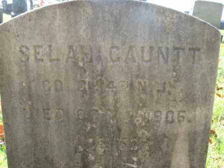 GAUNTT, SELAH - Burlington County, New Jersey | SELAH GAUNTT - New Jersey Gravestone Photos