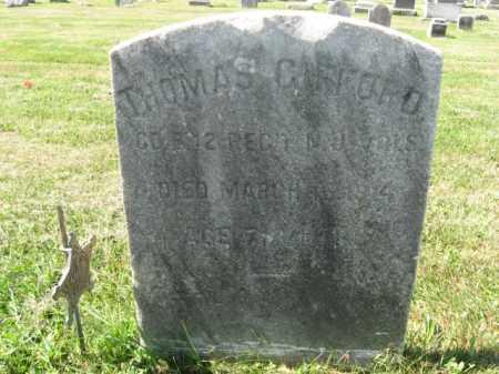 GIFFORD, THOMAS - Burlington County, New Jersey | THOMAS GIFFORD - New Jersey Gravestone Photos