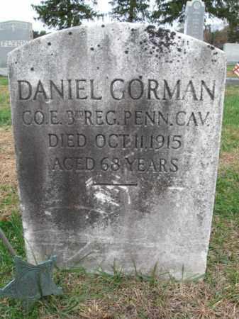 GORMAN, DANIEL - Burlington County, New Jersey | DANIEL GORMAN - New Jersey Gravestone Photos