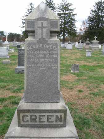 GREEN, DENNIS - Burlington County, New Jersey | DENNIS GREEN - New Jersey Gravestone Photos