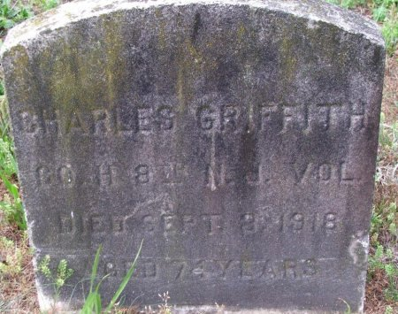 GRIFFITH, CHARLES H. - Burlington County, New Jersey | CHARLES H. GRIFFITH - New Jersey Gravestone Photos